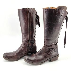 BOS & CO LEATHER BOOTS